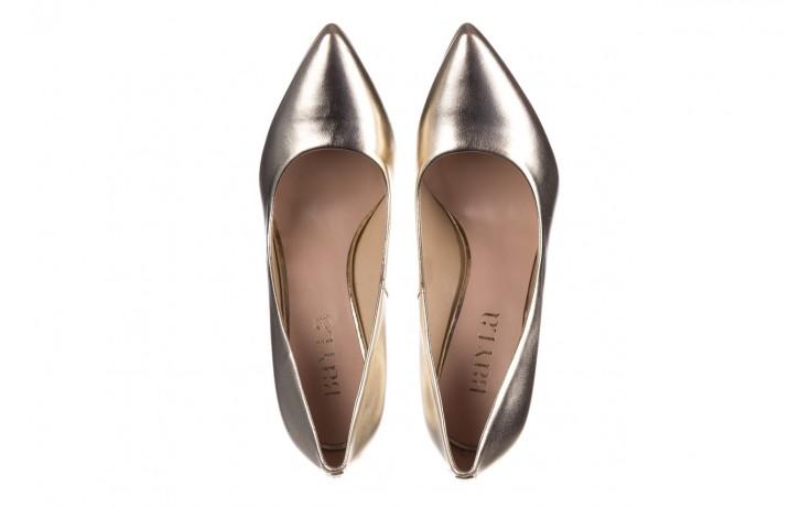 Szpilki bayla-056 2062-740 złoty, skóra naturalna  - czółenka - buty damskie - kobieta 4
