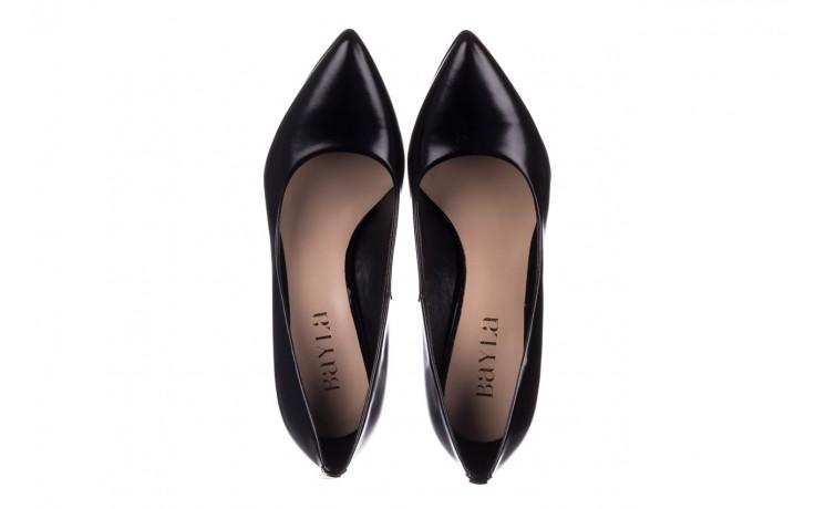 Szpilki bayla-056 2062-1278 czarny lico, skóra naturalna  - czółenka - buty damskie - kobieta 4