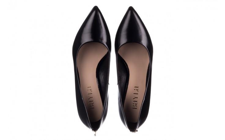 Szpilki bayla-056 7064-1278 czarny lico, skóra naturalna  - czółenka - buty damskie - kobieta 4