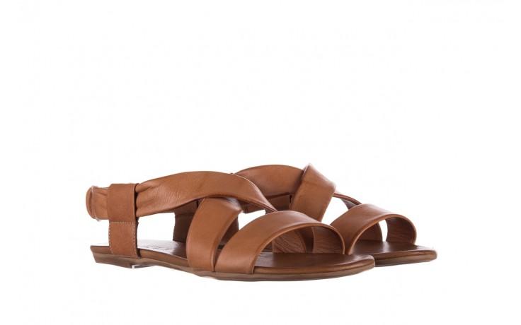 Sandały bayla-161 061 849 brąz, skóra naturalna 1