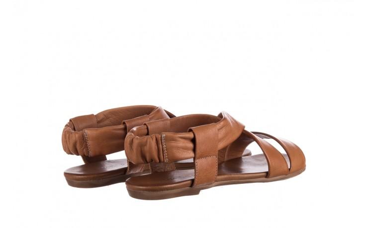 Sandały bayla-161 061 849 brąz, skóra naturalna 3