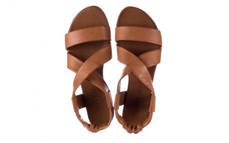 Sandały bayla-161 061 849 brąz, skóra naturalna 4