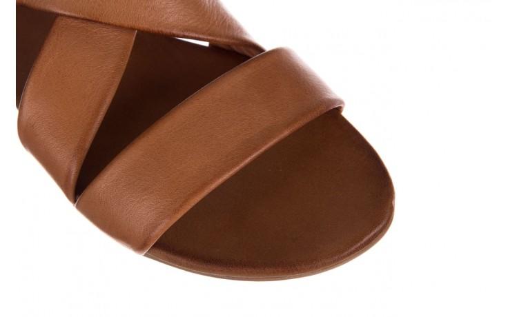 Sandały bayla-161 061 849 brąz, skóra naturalna 5