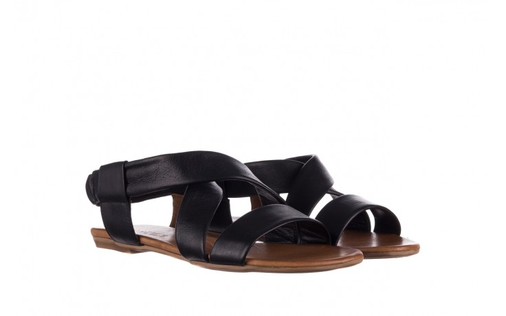Sandały bayla-161 061 849 czarny, skóra naturalna  - bayla - nasze marki 1