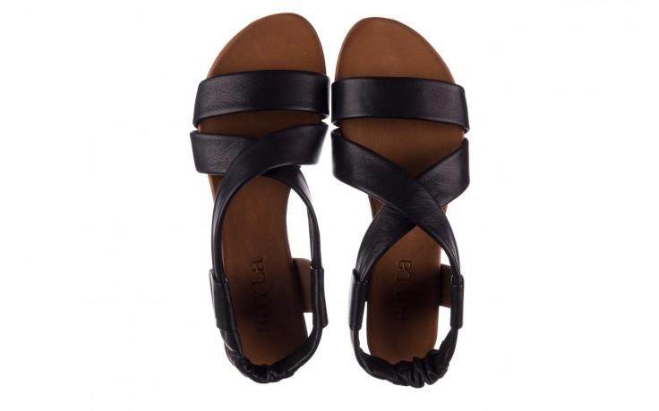 Sandały bayla-161 061 849 czarny, skóra naturalna  - bayla - nasze marki 4