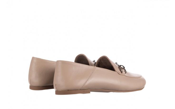 Półbuty bayla-161 088 6415 popielaty, skóra naturalna  - półbuty - buty damskie - kobieta 3
