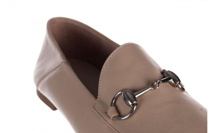Półbuty bayla-161 088 6415 popielaty, skóra naturalna  - półbuty - buty damskie - kobieta 5