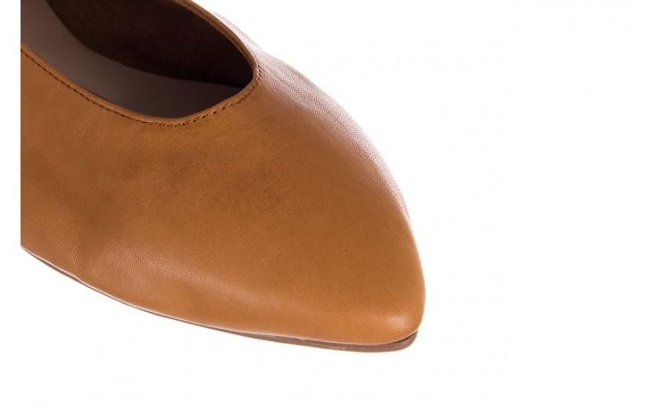 Baleriny bayla-161 093 388 4010 tan, brąz, skóra naturalna - skórzane - baleriny - buty damskie - kobieta 5