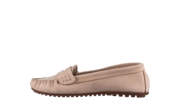 Mokasyny bayla-161 093 388 6004 beż, skóra naturalna  - półbuty - buty damskie - kobieta 2