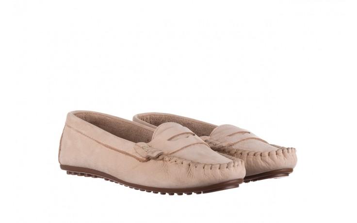 Mokasyny bayla-161 093 388 6004 beż, skóra naturalna  - półbuty - buty damskie - kobieta 1