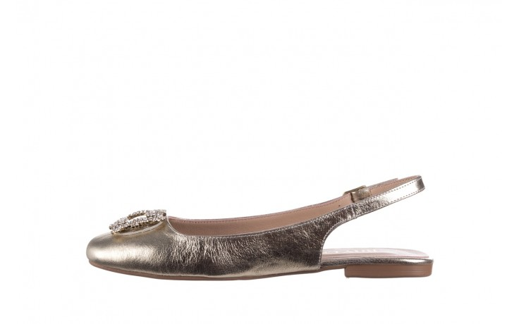 Sandały bayla-161 093 388 4054 gold 20, złoty, skóra naturalna  - sandały - buty damskie - kobieta 2