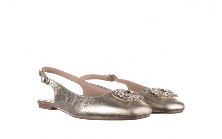 Sandały bayla-161 093 388 4054 gold 20, złoty, skóra naturalna  - sandały - buty damskie - kobieta 1