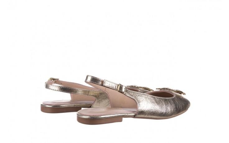 Sandały bayla-161 093 388 4054 gold 20, złoty, skóra naturalna  - sandały - buty damskie - kobieta 3