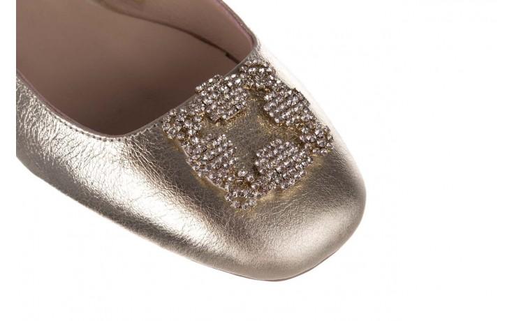 Sandały bayla-161 093 388 4054 gold 20, złoty, skóra naturalna  - sandały - buty damskie - kobieta 5