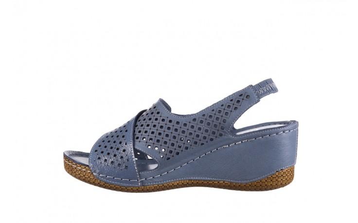 Sandały bayla-161 054 3010 niebieski, skóra naturalna  - bayla - nasze marki 2