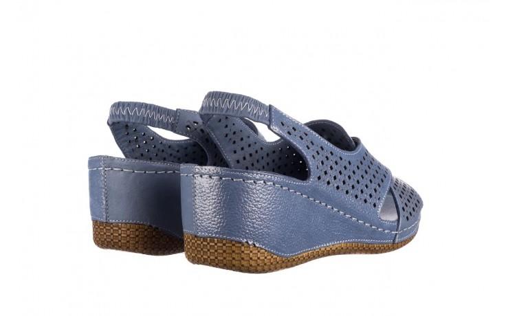 Sandały bayla-161 054 3010 niebieski, skóra naturalna  - bayla - nasze marki 3