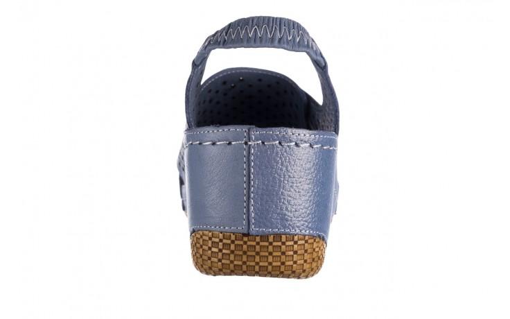 Sandały bayla-161 054 3010 niebieski, skóra naturalna  - bayla - nasze marki 6