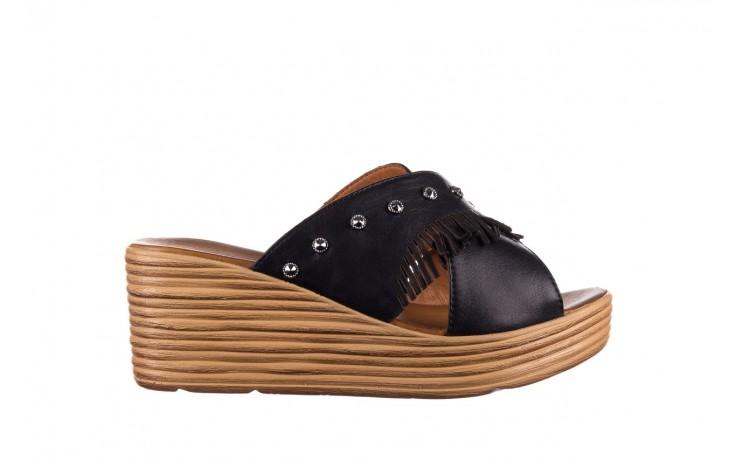Koturny bayla-161 066 475 czarny, skóra naturalna  - koturny - buty damskie - kobieta