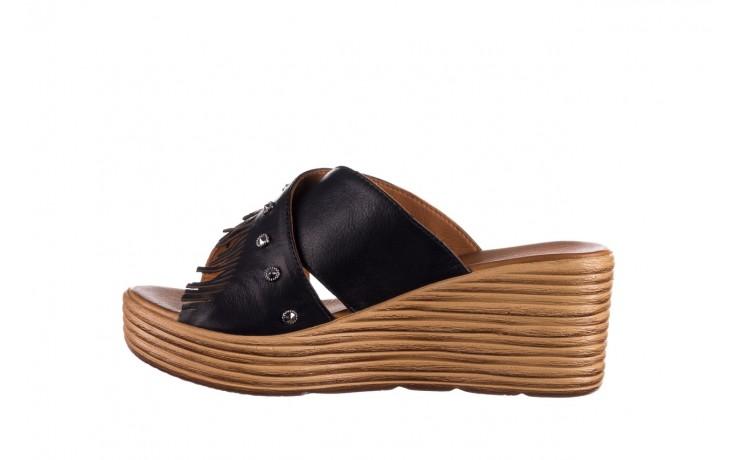 Koturny bayla-161 066 475 czarny, skóra naturalna  - koturny - buty damskie - kobieta 2