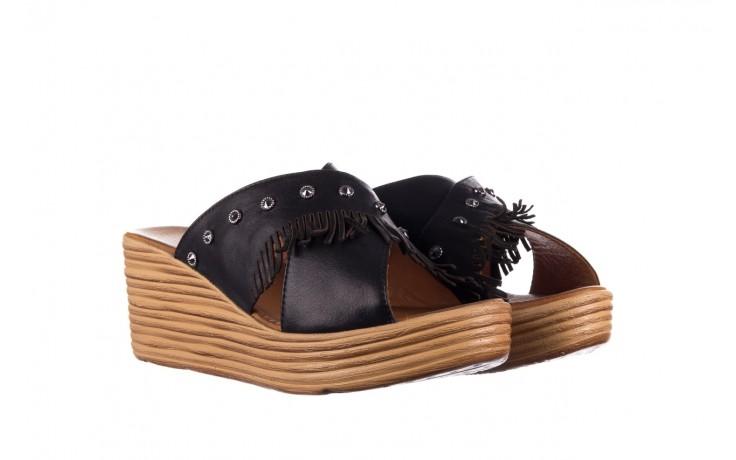 Koturny bayla-161 066 475 czarny, skóra naturalna  - koturny - buty damskie - kobieta 1