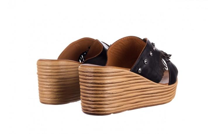 Koturny bayla-161 066 475 czarny, skóra naturalna  - koturny - buty damskie - kobieta 3