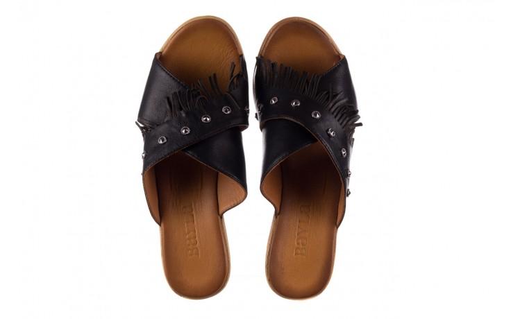 Koturny bayla-161 066 475 czarny, skóra naturalna  - koturny - buty damskie - kobieta 4