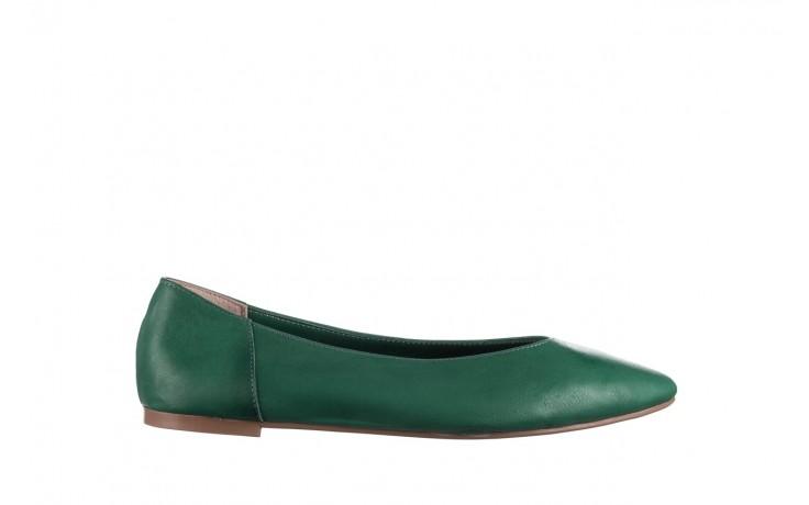 Baleriny bayla-161 093 388 4010 khaki, zielony, skóra naturalna  - bayla - nasze marki