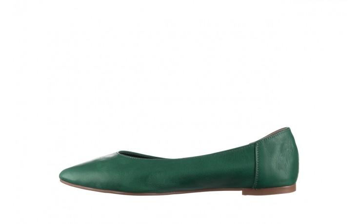Baleriny bayla-161 093 388 4010 khaki, zielony, skóra naturalna  - bayla - nasze marki 2
