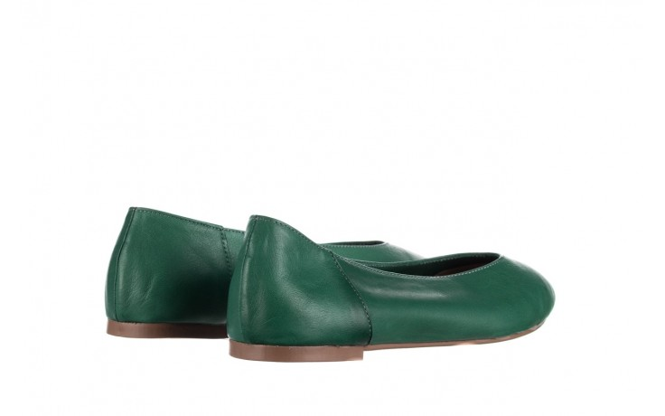 Baleriny bayla-161 093 388 4010 khaki, zielony, skóra naturalna  - bayla - nasze marki 3