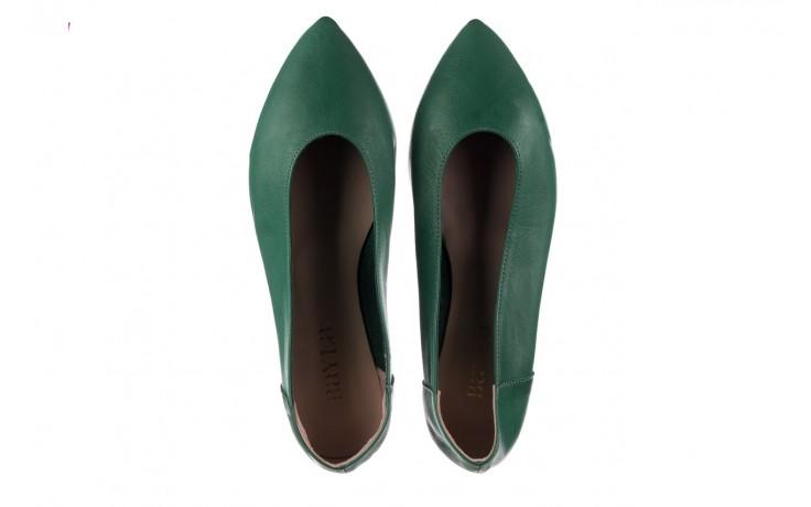 Baleriny bayla-161 093 388 4010 khaki, zielony, skóra naturalna  - bayla - nasze marki 4