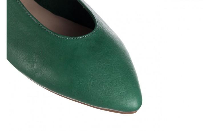 Baleriny bayla-161 093 388 4010 khaki, zielony, skóra naturalna  - bayla - nasze marki 5