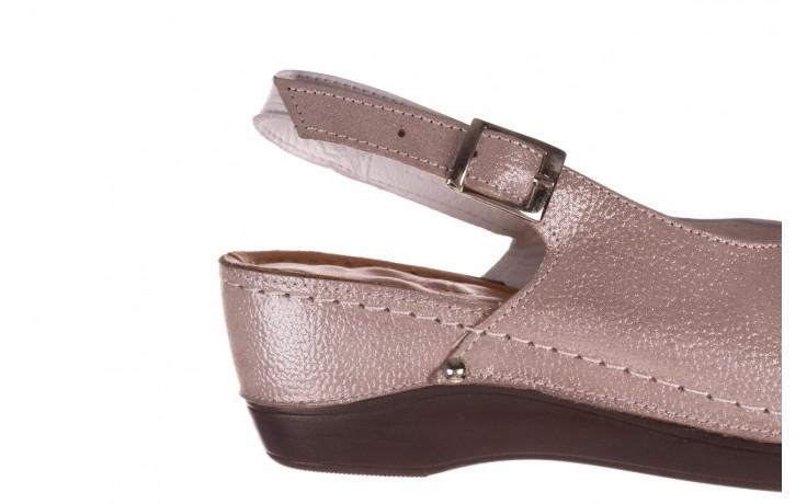 Sandały bayla-112 0158-58 biały szary, skóra naturalna  - bayla - nasze marki 6