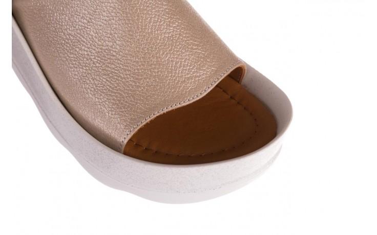 Klapki bayla-112 0088-001 beż, skóra naturalna  - bayla - nasze marki 5