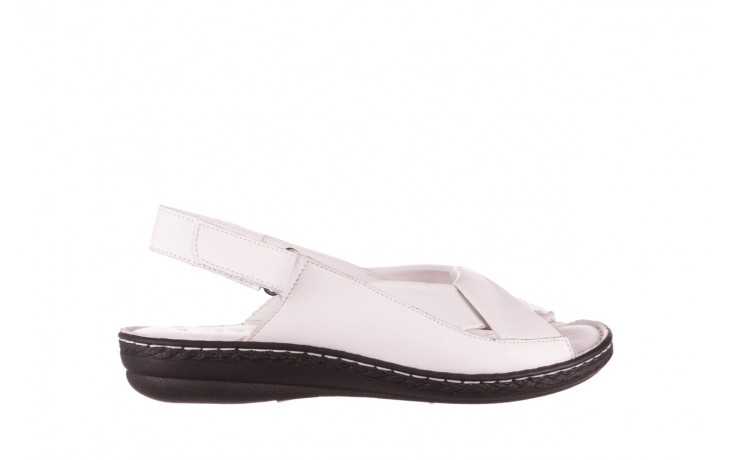 Sandały bayla-112 0277-411-453 biały, skóra naturalna  - bayla - nasze marki