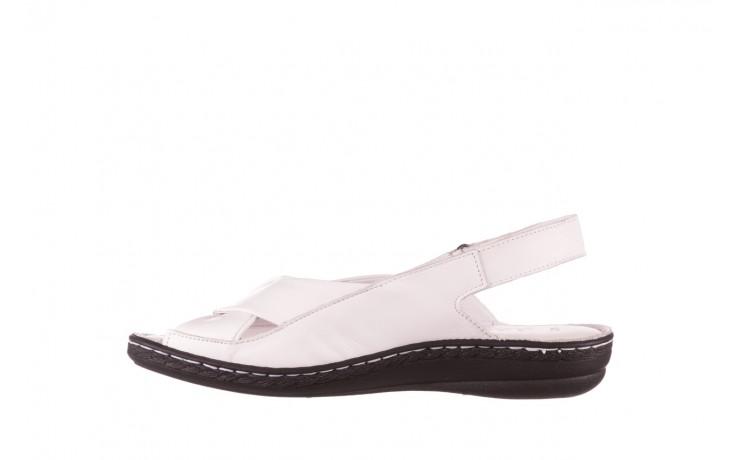 Sandały bayla-112 0277-411-453 biały, skóra naturalna  - bayla - nasze marki 2