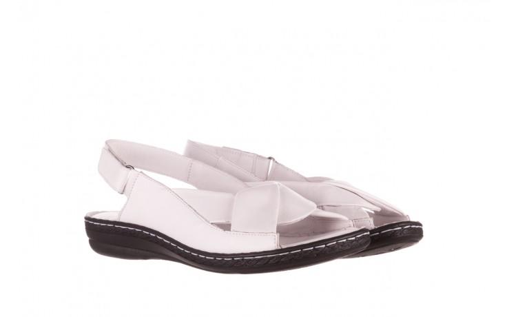 Sandały bayla-112 0277-411-453 biały, skóra naturalna  - bayla - nasze marki 1