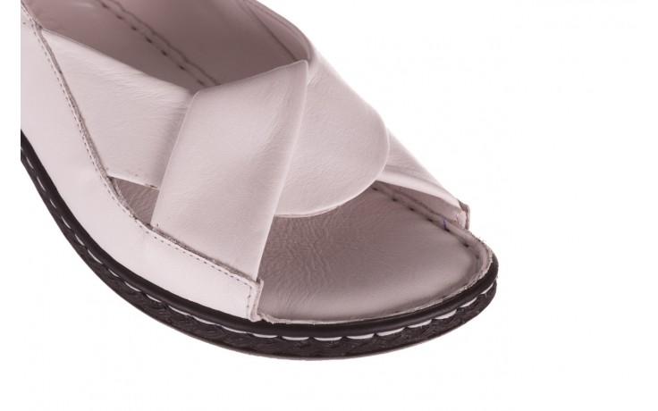 Sandały bayla-112 0277-411-453 biały, skóra naturalna  - bayla - nasze marki 5