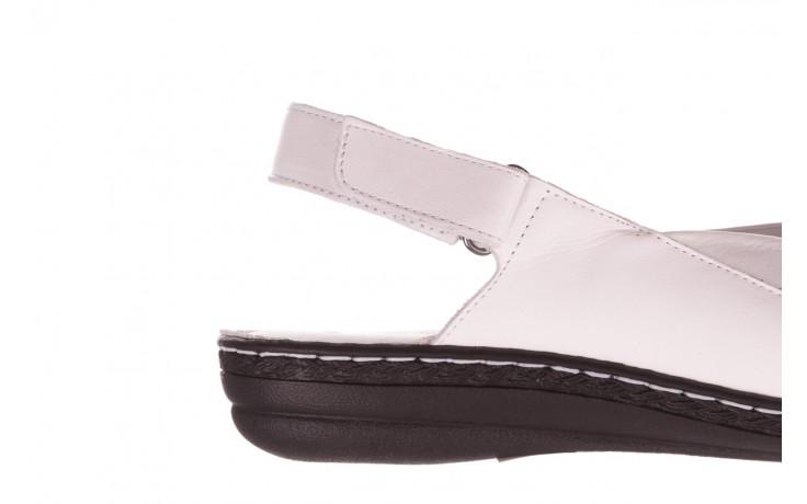 Sandały bayla-112 0277-411-453 biały, skóra naturalna  - bayla - nasze marki 6