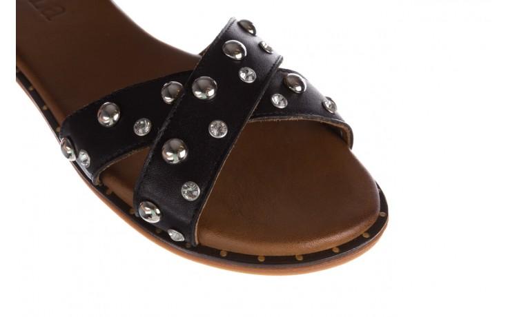 Sandały bayla-176 122z czarny, skóra naturalna  - bayla - nasze marki 5
