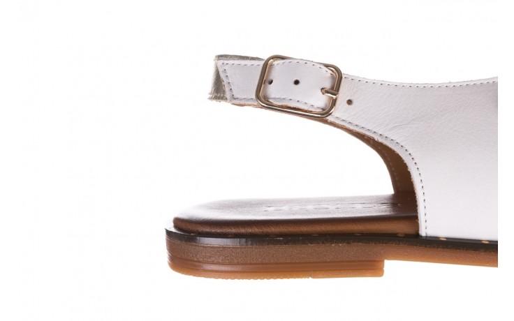 Sandały bayla-176 117z biały złoty, skóra naturalna  - bayla - nasze marki 6