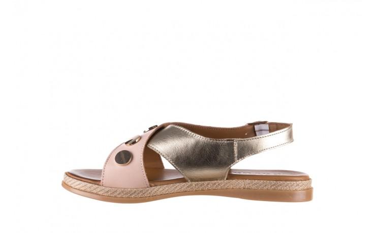 Sandały bayla-176 117 różowy złoty, skóra naturalna  - bayla - nasze marki 2