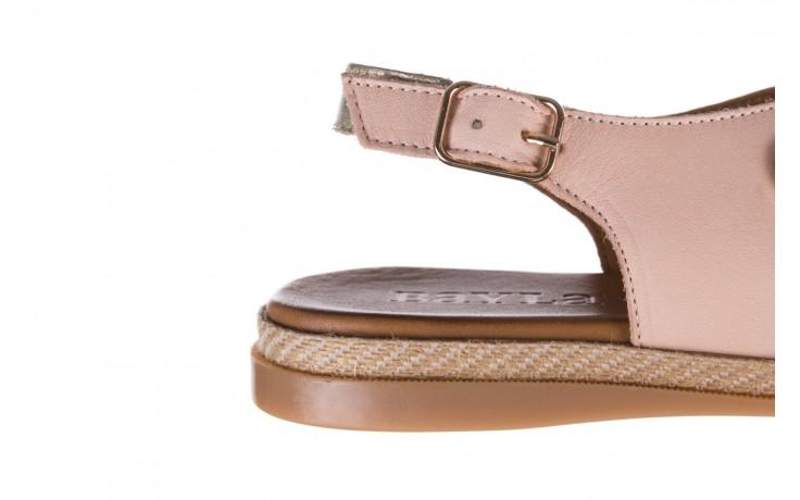 Sandały bayla-176 117 różowy złoty, skóra naturalna  - bayla - nasze marki 6