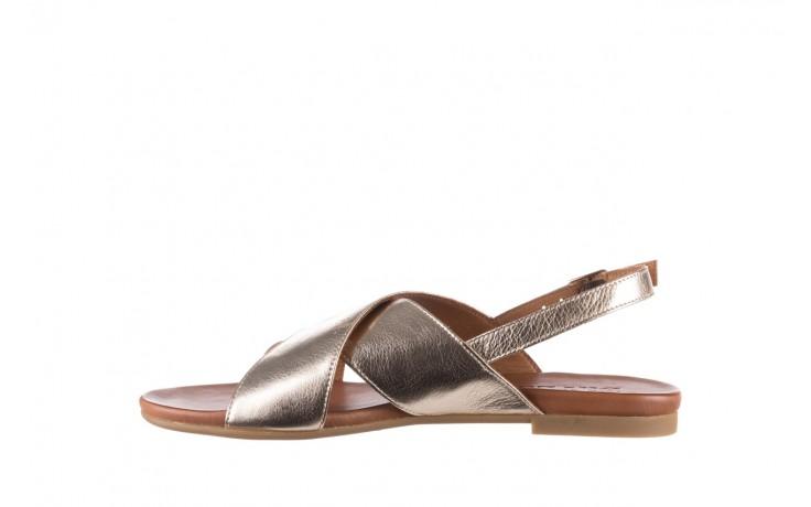 Sandały bayla-176 8641 złoty, skóra naturalna  - bayla - nasze marki 2