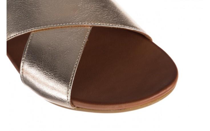 Sandały bayla-176 8641 złoty, skóra naturalna  - bayla - nasze marki 5