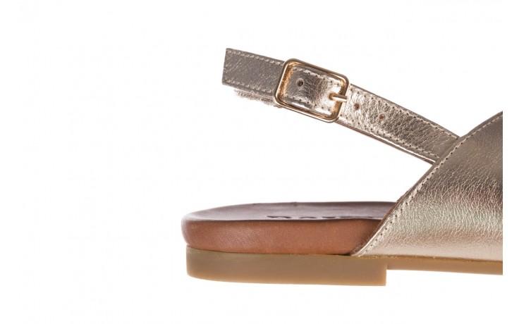 Sandały bayla-176 8641 złoty, skóra naturalna  - bayla - nasze marki 6