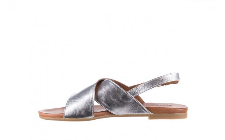 Sandały bayla-176 8641 silver, srebrny, skóra naturalna  - bayla - nasze marki 2