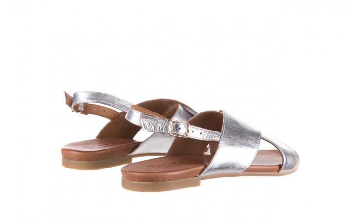 Sandały bayla-176 8641 silver, srebrny, skóra naturalna  - bayla - nasze marki 3