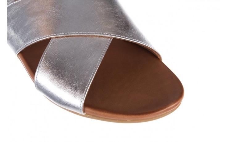 Sandały bayla-176 8641 silver, srebrny, skóra naturalna  - bayla - nasze marki 5