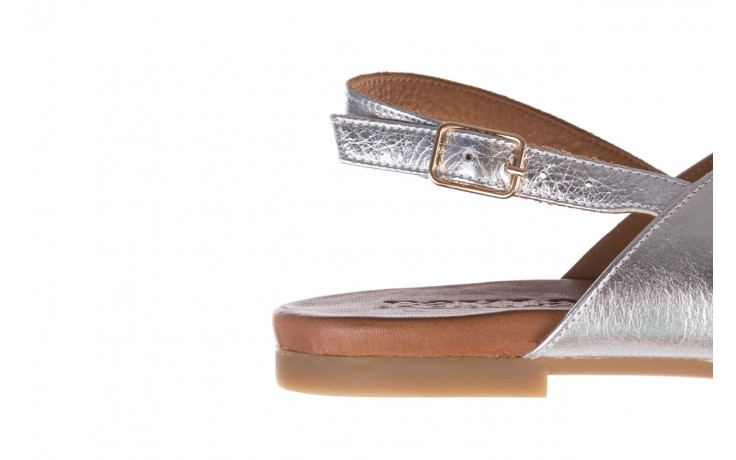 Sandały bayla-176 8641 silver, srebrny, skóra naturalna  - bayla - nasze marki 6
