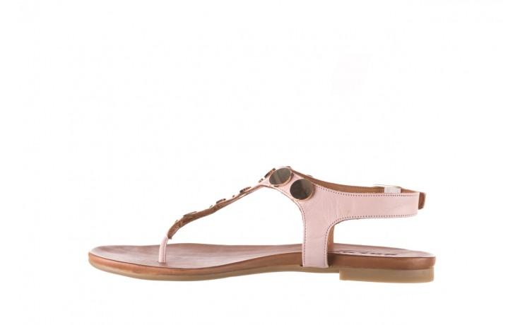 Sandały bayla-176 8643 różowy, skóra naturalna  - japonki - sandały - buty damskie - kobieta 2